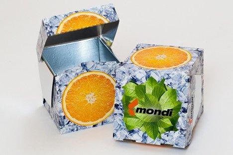 opakowanie chłodzące icebox - Mondi