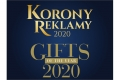 Korony Reklamy 2020 oraz Gifts of The Year 2020