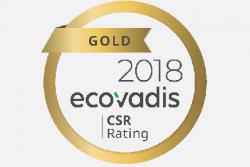 Ricoh ze złotym wyróżnieniem w rankingu EcoVadis