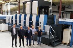 Nowa maszyna KBA Rapida w drukarni Karton-Pak Cieszyn