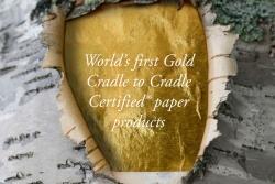 Lessebo Paper z certyfikatem Cradle to Cradle Certified GOLD