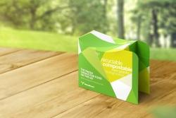 Certyfikat kompostowalności przemysłowej dla tektury z ekobarierą Metsä Board