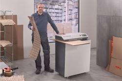Nacinarki ProfiPack zmieniają zużyte opakowania kartonowe w materiał do zabezpieczania przesyłek