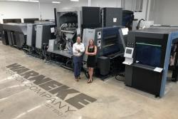 Pierwszy system druku cyfrowego Heidelberg Primefire w USA