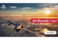 Lotniczo-drukarskie show Canon i Smart LFP