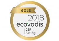 EOC Belgium ze Złotą Etykietą EcoVadis
