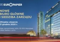 Nowe biuro główne i siedziba Zarządu Europapier Polska
