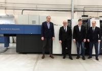 Nowa maszyna offsetowa Koenig & Bauer w Argo-Card