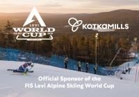Kotkamills partnerem narciarskiego Pucharu Świata w Levi