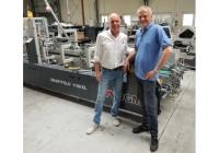 Składarko-sklejarka DGM Smartfold 1100SL w drukarni GRAFOS