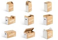 Innowacyjne opakowania z tektury falistej dla internetowych sklepów spożywczych