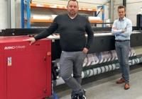 Publi-FDM pierwszym na świecie użytkownikiem nowego plotera sublimacyjnego Agfa Avinci CX3200