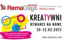 Kreatywni. Otwarci na nowe – RemaDays Warsaw 2021