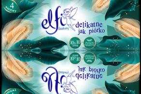 Chusteczki higieniczne elfi