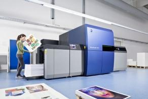 Cyfrowa maszyna arkuszowa AccurioJet KM-1 z certyfikatem FOGRA53