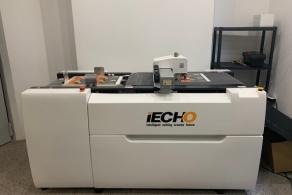 Ploter bigująco-tnący iEcho w drukarni W2Print