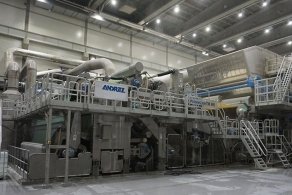 Międzynarodowa grupa technologiczna ANDRITZ uruchomiła maszynę do produkcji bibuły higienicznej PrimeLineTM W6 w Rosji.