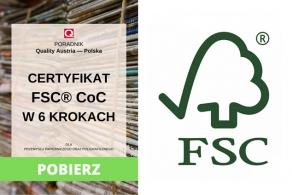 Certyfikat FSC® CoC