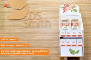 DS Smith wprowadza ekologiczne rozwiązania dla materiałów POS