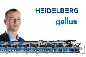 Edwin Piotrowski szefem sprzedaży maszyn wąskowstęgowych Gallus w Heidelberg Polska