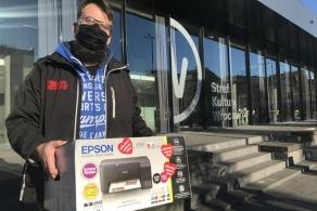 Ponad 15 tys. zł dla WOŚP z aukcji unikalnych drukarek Epson EcoTank