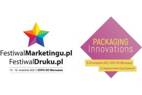 Targi Packaging Innovations łączą siły z FestiwalemMarketingu.pl oraz FestiwalemDruku.pl