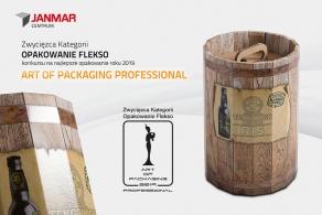 Janmar Centrum z Trzcinicy Zwycięzcą Kategorii Opakowanie Flekso w konkursie Art Of Packaging 2019