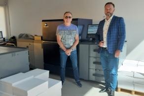 Pierwsza w Polsce maszyna Konica Minolta AccurioPress C12000 do produkcji wysokonakładowej w drukarni Centropap