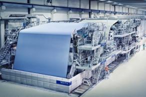 Laakirchen Papier rozwija do zrównoważoną produkcję papieru do czasopism