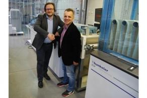 Mazowieckie Centrum Poligrafii kolejnym polskim użytkownikiem linii roll to stack firmy Hunkeler