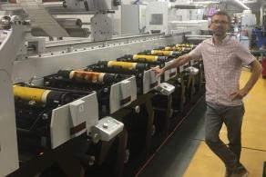 Nowa maszyna Evolution Series w drukarni Orion Znakowanie Towarów