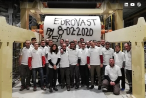 Linia do produkcji papierów higienicznych Toscotec przekracza cele produkcyjne Grupy EuroVast